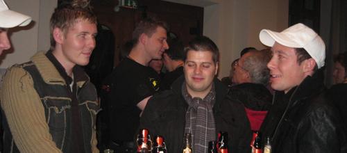 Öffentliche Probe/Neujahrsapéro 2009